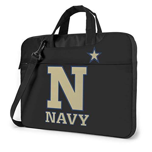 US Navy Naval Academy Quakeproof Laptop Bag Briefcase Shoulder Messenger Bag Satchel Tablet Bussiness Carrying Handbag 15.6Inch