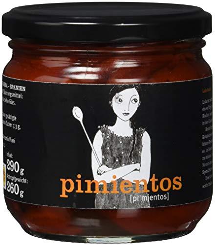 Viani, Pimientos del Piquillo, Gegrillte, gehäutete Paprikaschoten, 290 g