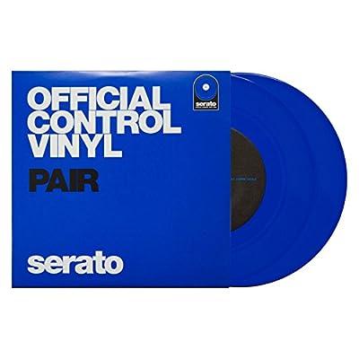 "10"" Serato Control Vinyl - Standard Colors - Blue (PAIR)"