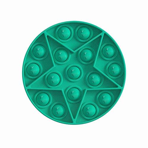 Juguete antiestrés Push Pop Bubble Sensory Fidget Toy Fidget Sensory Toy Juguetes antiestrés juguetes para niños y adultos