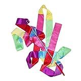 tJexePYK Cinta de Danza Gimnasia rítmica Streamer Arte de Gimnasia Ballet de Giro de Rod de Navidad para los Deportes Color Mezclado