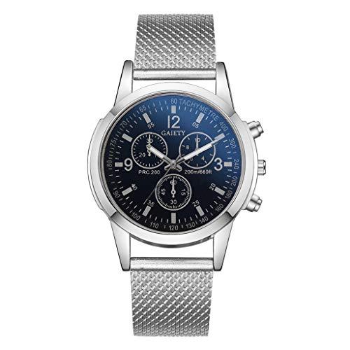 UINGKID Collection Unisex-Armbanduhr Herren Uhren Ultra Dünne Herrenuhren Analog Quarz Silikonband Große Zifferblatt Armbanduhr