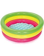 حمام سباحة للأطفال - بيست واي 51128 بقطر 27.5 سم × ارتفاع 9.5 سم / بقطر 70 سم × ارتفاع 24 سم