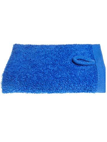 Julie Julsen Gant de toilette en 12 coloris disponibles doux et absorbant Öko Tex bleu royal 30 x 30 cm