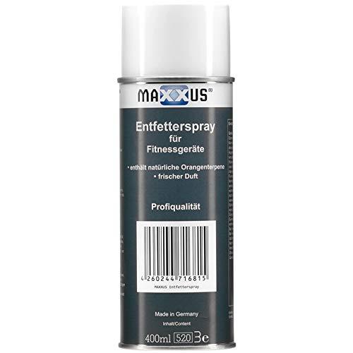 Maxxus Entfetter-Spray für Fitnessgeräte - Made in Germany
