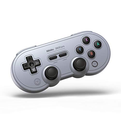 8Bitdo Sn30 Pro Gamepad Grey Edition [