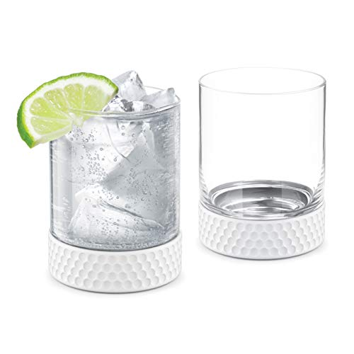 Final Touch Hole-In-One Whiskey / Cocktail Golf Tumblers - 12oz, Set of 2 (FTA6652)