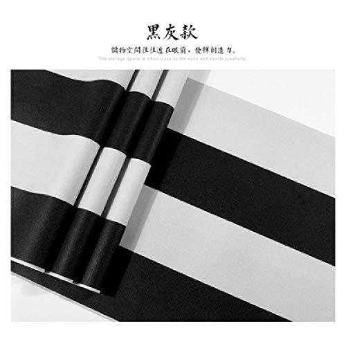 Behang groen geluiddempend niet zelfklevend behang grijs zwart wit slaapkamer woonkamer achtergrond TV achtergrond achtergrond modern minimalistisch Black And Gray Stripes