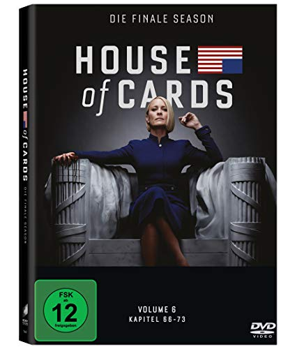 House of Cards - Die komplette sechste Season (3 Discs) [DVD]