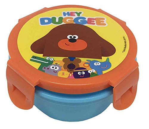 Hey Duggee Childrens Snack Pot, polypropyleen kunststof, Multi Colour, one Size