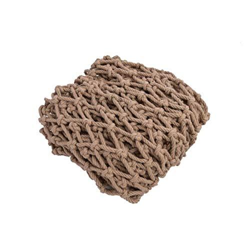 Safety Anti-fall Net Partition Decorative Net, Jute Netting Hemp Rope Net Bangladeshi Jute Net, Hemp Cargo Net Hemp Trellis Netting Hemp Parrot Climbing Net, Outstanding Wear-resistant Handicap Net (s