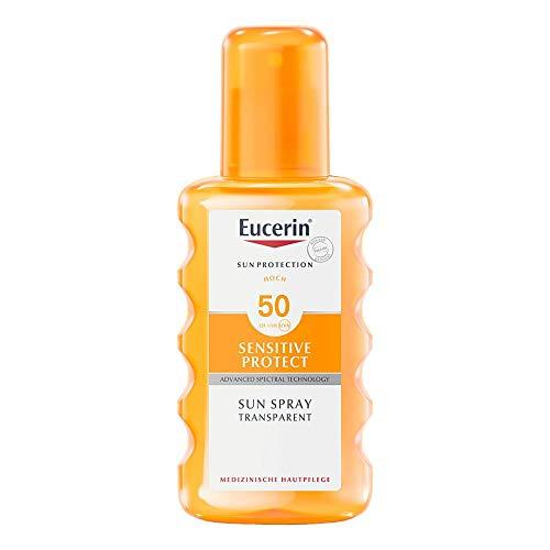 EUCERIN Sun Spray transparent LSF 50 200 ml