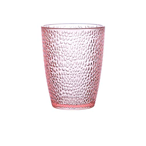 Chanety,taza de agua aislada,taza de agua 200~300 ml Color de acrílico Copa de agua PC PC Cerveza de plástico Resistencia a la caída KTV Bar Restaurante Jugo Drink Taza Leche Copa de agua Cocina taz