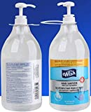 Wish Advanced Hand Sanitizer 67.6oz With Pump Package May Vary) Pack of 2