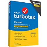 TurboTax Premier 2020 Desktop Tax Software, Federal and State Returns + Federal E-file (State E-file Additional) [Amazon Exclusive] [PC/Mac Disc]