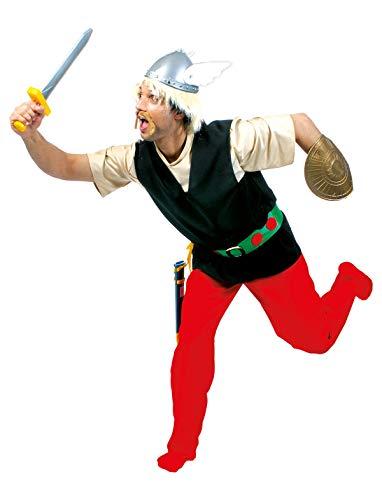 TrendClub100 Pequeo disfraz de Gallier vikingo para adultos para hombre (AST, 48-50)