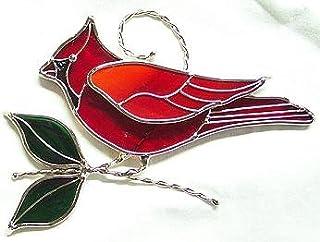 Cardinal Suncatcher - Silver Finish