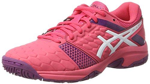 Asics Gel-Blast 7 GS, Zapatos de Balonmano Americano Unisex Adulto, Multicolor (Rouge Red/White/Prune), 37 EU