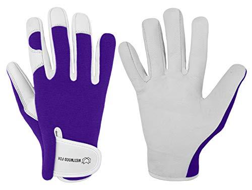 Westwood Fox Ladies/Men's Leather Gardening Gloves