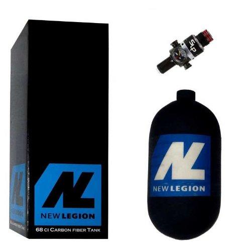 New Legion Paintball Dwarf Composite inkl. Ninja SLP Regulator, 1.1 Liter, 61509