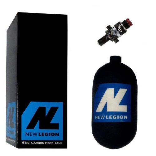 New Legion Paintball Dwarf Composite inkl. Ninja SLP Regulator, 1.1 Liter, 61509