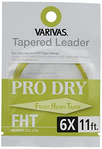VARIVAS(バリバス) ハリス テーパードリーダー プロドライ FHT 11ft 6X TL-41
