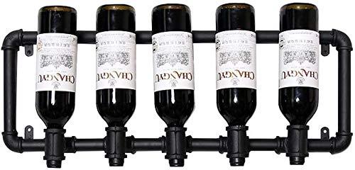 Decoración de la barra de la botella de vino colgada,A