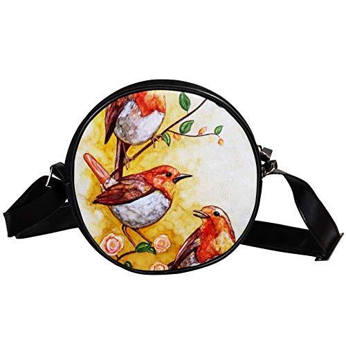 Bennigiry - Bolso bandolera para mujer, diseño de Songbird Chorus