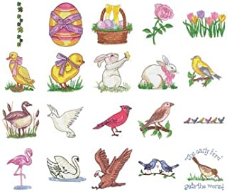 Tacony Corporation Springtime Embroidery Design Memory Card by Simplicity