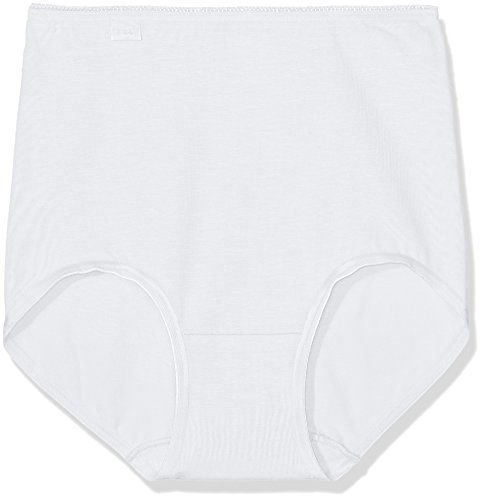 Sloggi Damen 24/7 Cotton MX3P Slip, Weiß (White 03), 40