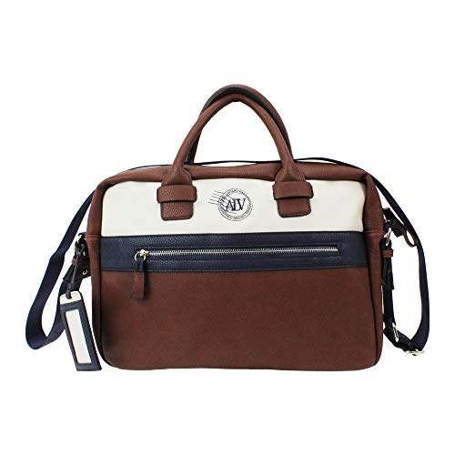 ALV by Alviero Martini - Handbag CITY with shoulder strap, waterproof and durable for man