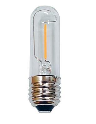Fulight® LED Filament Long Tube Bulb T30 - 3W Soft White 2700K E26 Medium Base to Replace 40W Tungsten Tube Incandescent Bulbs