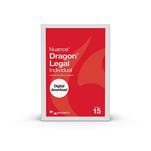 dictation softwares Dragon Legal Individual 15.0, Dictate Documents and Control your PC with Voice Recognition Software [PC Download]