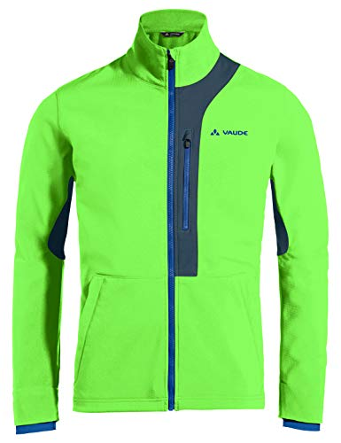 VAUDE Herren Men's Virt Softshell Jacket Jacke, Vibrant Green, S