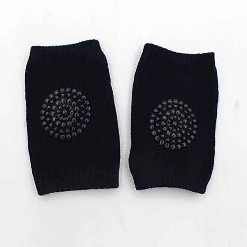 JKCKHA Niños bebé rodillera seguridad Algodón arrastrándose cojín de codo bebé rótula niños pequeños calentador de la pierna protector de la rodilla de apoyo calcetines del calentamiento de las pierna