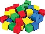 STEM Basics: Multicolor 3/4' Foam Cubes - 40 Count