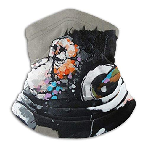 Randy-Shop Luister naar muziek Gorilla Neck Gaiter Warmer Windproof Ski Cover