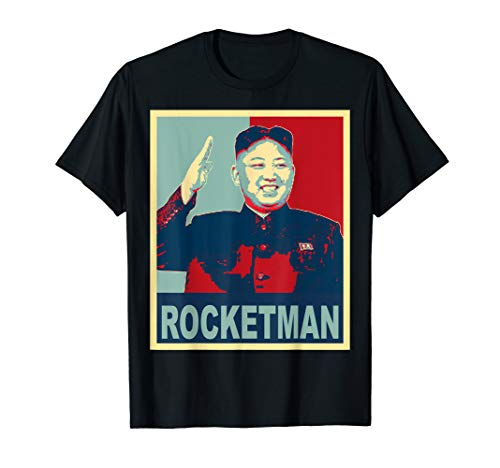 Rocketman und die dotard, Kim Jong Un Funny Trump Meme T Shirt