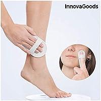 InnovaGoods IG116325 - Almohadillas exfoliantes depiladoras