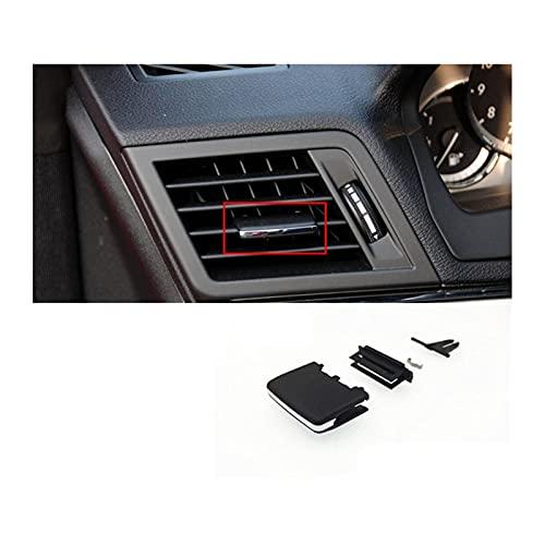 Zcxiong 1pc para Mercedes para Benz W212 E180 E200 E260 E280 E300 A/C Outlet Air Salida Negra Label de Etiqueta Negro Kit de reparación/Ventilación de Aire Acondicionado (Color Name : Black)