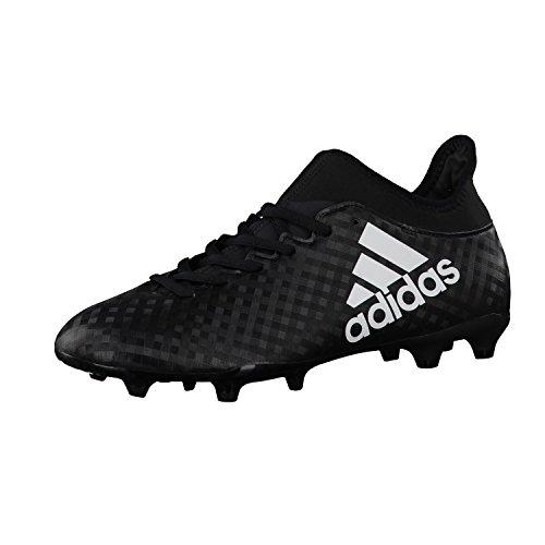 Adidas Herren X 16.3 FG Fußballschuhe, Schwarz (Cblack/Ftwwht/Cblack), 42 EU