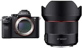ソニー SONY フルサイズミラーレス一眼 α7RM2 ボディ ILCE-7RM2 + SAMYANG 単焦点広角レンズ AF 14mm F2.8 ソニー αE用 オートフォーカス対応 フルサイズ対応