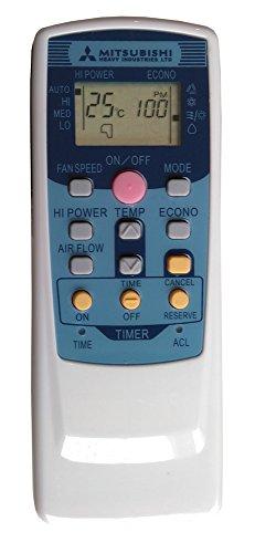 wellclima Telecomando per condizionatore Mitsubishi Heavy Industries RKT502A420 - RMA502A001 Compatibile con la Serie RKT502A - RMA502A Aria condizionata, climatizzatore, Pompa di Calore, Inverter