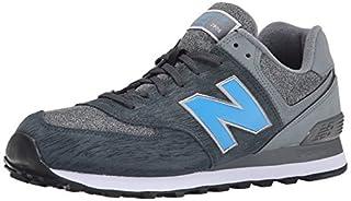 New Balance NBML574MON Sneaker, Uomo, Dark Grey / Grey, EU 45 (US ...