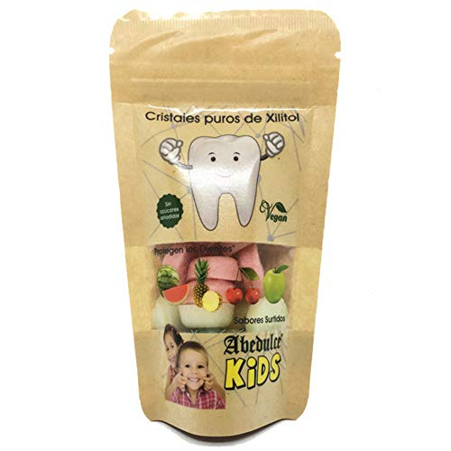 Caramelos Cristal Xilitol Kids Bio 49g - Abedulce