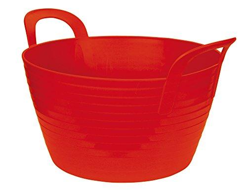 Kerbl Capazo Flexible FlexBag, Aprox. 28 l, Rojo