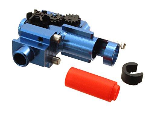SHS Softair/Airsoft -CNC- Hop Up Unit für M4 / M16 (S) AEG Modelle - blau