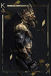 ARTZHU Connor McGregor,UFC,Wall Art Home Wall Decorations for Bedroom Living Room Oil Paintings Canvas Prints -183(Unframed,Framed) (16x24inch(Framed))