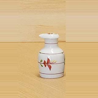 Imari Pottery Japanese Soy Sauce Bottle Round Type Flowers 00512015