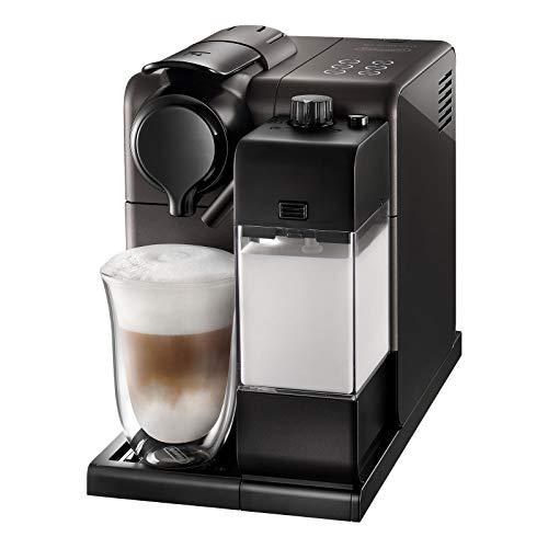 De'Longhi Nespresso Lattissima Touch EN 550.BM Kaffekapselmaschine mit Milchsystem, Gratis Welcome Set mit Kapseln in unterschiedlichen Geschmacksrichtungen, 19 bar Pumpendruck, Schwarz(Metallisch)